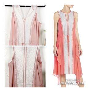 BCBG MaxAzria RUNWAY • Blush pink Arion dress